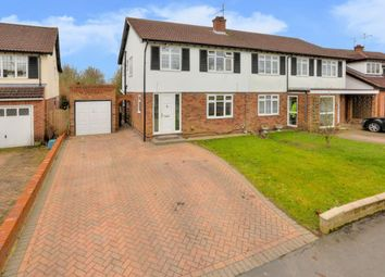 Thumbnail 3 bed semi-detached house for sale in The Ridgeway, St.Albans