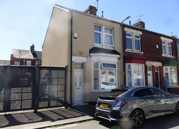 Thumbnail 2 bedroom end terrace house for sale in Edward Street, North Ormesby, Middlesbrough