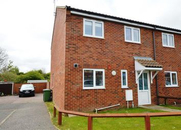 Thumbnail 3 bed end terrace house for sale in Anson Close, Mundesley, Norwich