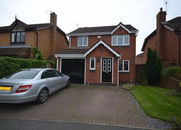 Thumbnail 3 bed detached house for sale in Newlyn Gardens, Penketh, Warrington