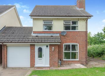 Thumbnail 3 bed link-detached house for sale in Church View, Marham, King's Lynn