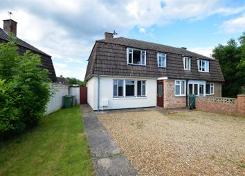 Thumbnail 3 bed semi-detached house for sale in Burley Crescent, Oakham