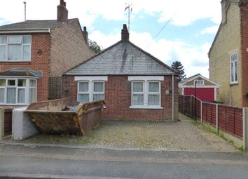 Thumbnail 1 bedroom detached bungalow for sale in Station Drive, Wisbech