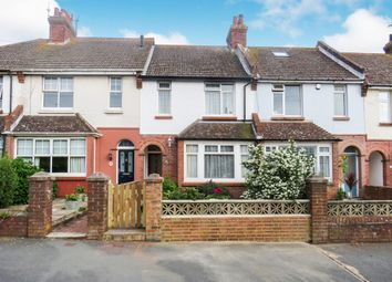 Thumbnail 3 bedroom terraced house for sale in Hindover Road, Seaford
