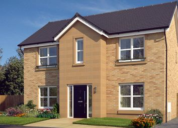 "Thumbnail 4 bed detached house for sale in ""The Danbury"" at Glasgow Road, Denny"