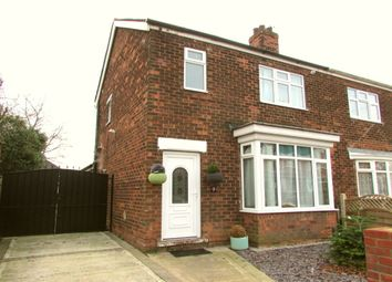 Thumbnail 3 bed semi-detached house for sale in Humber Crescent, Scunthorpe