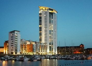 Thumbnail Block of flats for sale in Meridian Quay, Marina, Swansea