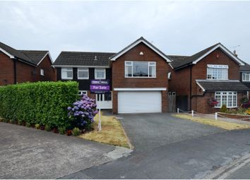 Thumbnail 5 bed detached house for sale in Bayley Road, Nantwich