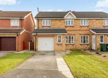 Thumbnail 3 bed semi-detached house to rent in West End Court, Rossington, Doncaster