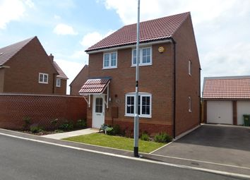 Thumbnail 3 bed detached house to rent in May Drive, Glenfield, Leicestershire