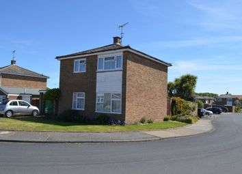 Thumbnail 3 bedroom detached house for sale in Knights Close, Old Felixstowe, Felixstowe