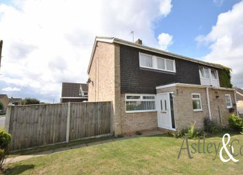 Thumbnail 3 bed semi-detached house for sale in Three Corner Drive, Old Catton, Norwich