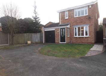 Thumbnail 3 bed detached house for sale in Chaffinch Drive, Kidderminster, Worcestershire