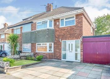 Thumbnail 3 bed semi-detached house for sale in Deyes Lane, Maghull, Liverpool, Merseyside