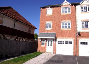 Thumbnail 4 bedroom terraced house to rent in Hainsworth Park, Hull