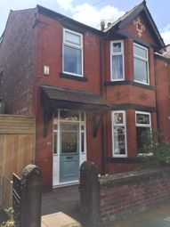Thumbnail 4 bed semi-detached house to rent in Longford Road, Chorlton Cum Hardy, Manchester