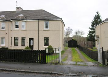 Thumbnail 2 bed flat for sale in Glencairn Avenue, Wishaw