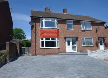 Thumbnail 3 bed semi-detached house for sale in Flamsteed Crescent, Chesterfield