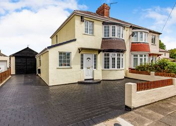 Thumbnail 4 bed semi-detached house for sale in Denholme Avenue, Stockton-On-Tees