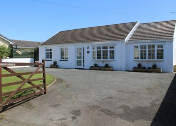 Thumbnail 4 bed detached bungalow for sale in The Willows, 18 Church Road, Roch.