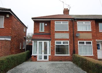 Thumbnail 2 bed end terrace house for sale in Moorhouse Road, Hull