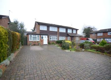 Thumbnail 3 bed semi-detached house for sale in Lillibrooke Crescent, Maidenhead, Berkshire