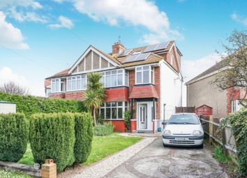 Thumbnail 4 bed semi-detached house for sale in Boundstone Lane, Lancing