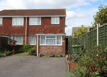 Thumbnail 3 bed semi-detached house for sale in Pound Road, Old Netley, Southampton