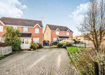 Thumbnail 3 bed semi-detached house for sale in Oakham Close, Desborough, Kettering