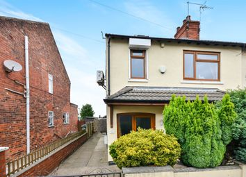 Thumbnail 3 bed semi-detached house for sale in Mill Street, Mansfield