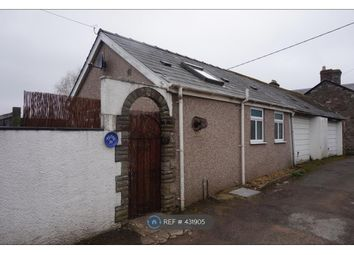 Thumbnail 1 bed bungalow to rent in Llanbedr Road, Crickhowell