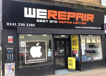 Retail premises for sale in Great Western Road, Glasgow G4