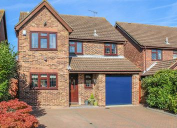Thumbnail 4 bed detached house for sale in Wakes Colne, Wickford