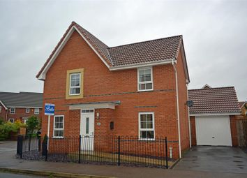 Thumbnail 4 bed detached house for sale in Dunlin Drive, Scunthorpe