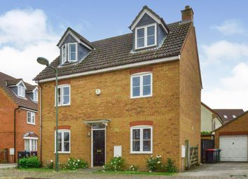 Thumbnail 4 bed detached house for sale in Eardley Place, Grange Farm, Milton Keynes