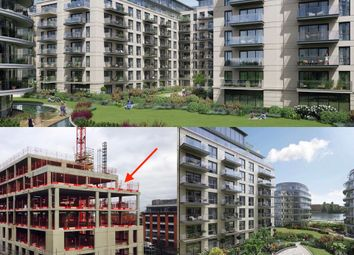 Thumbnail 3 bed flat for sale in Penthouse, Faulkner House, Fulham Reach