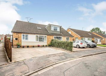 Thumbnail 4 bed semi-detached house for sale in Anson Close, Rugby