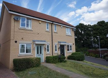 Thumbnail 2 bed semi-detached house for sale in Masters Crescent, Basildon