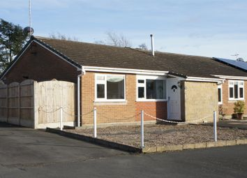 Thumbnail 1 bedroom semi-detached bungalow for sale in Chitterman Way, Markfield