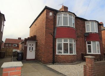 Thumbnail 2 bed semi-detached house for sale in Churchill Street, Wallsend