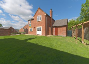Thumbnail 4 bedroom detached house for sale in Pullman Close, Rushton, Kettering
