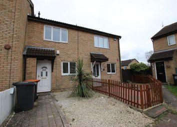 Thumbnail 2 bed terraced house to rent in Conway Close, Houghton Regis, Dunstable