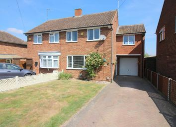 Thumbnail 3 bed semi-detached house for sale in Osborn Road, Barton Le Clay, Bedfordshire