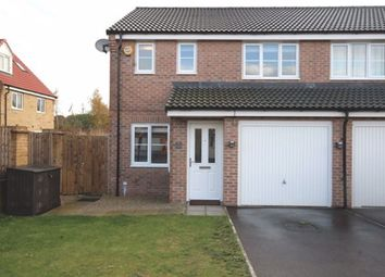 Thumbnail 3 bed semi-detached house to rent in Palm House Drive, Selby