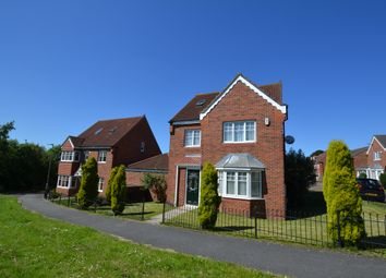 Thumbnail 5 bed detached house for sale in Leafield Close, Birtley