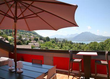 Thumbnail 4 bed apartment for sale in Veyrier Du Lac, Haute-Savoie, France