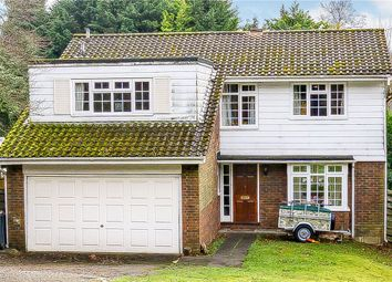 Thumbnail 4 bedroom detached house for sale in Old Farleigh Road, Selsdon, South Croydon
