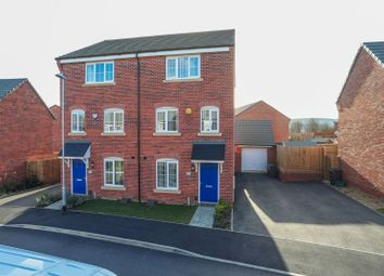 Thumbnail 4 bed semi-detached house for sale in Damselfly Road, Pineham, Northampton