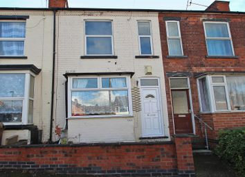 Thumbnail 3 bed terraced house for sale in Burgass Road, Nottingham