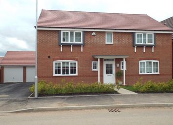 Thumbnail 4 bed detached house to rent in Sunset Way, Evesham